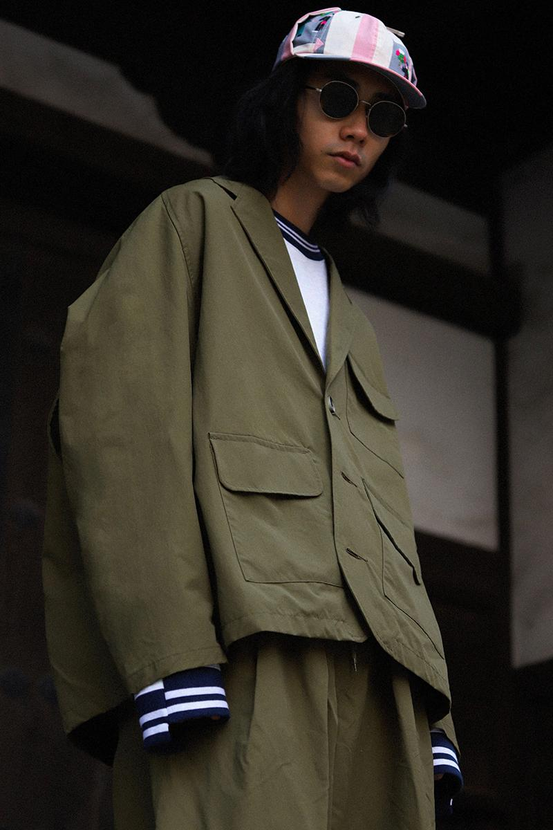 Sillage Spring Summer 2021 Collection menswear streertwear ss21 jackets shirts sweaters trousers pants thai fabric antique