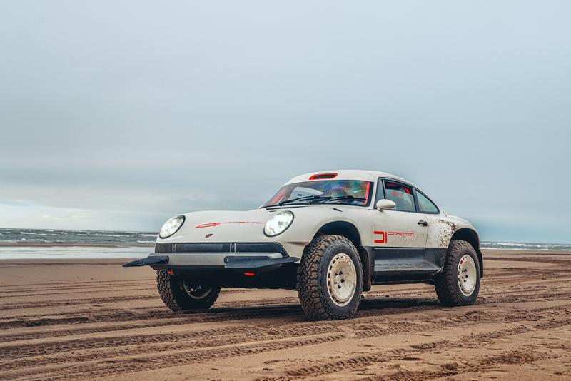 Singer Safari 911 Porsche 964 1990 ACS All-Terrain Competition Study Commission Build One-Off Limited Edition Sportscar 4WD Baja 1000 Dakar Rally