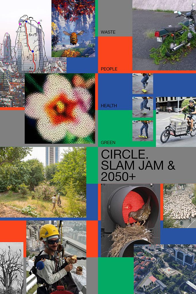 """Slam Jam and 2050+ Announce """"Circle"""" Think Tank Platform Digital Workshops Thought Provoking Conversations COVID-19 Coronavirus Pandemic Milan Multiculturalism Health Green People Waste"""