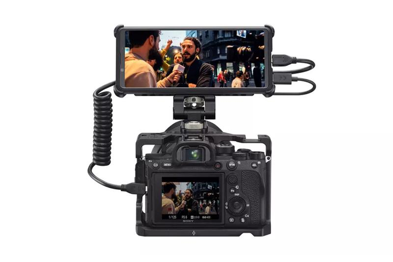 sony xperia pro cell phone hdmi port camera livestream 2500 usd expensive official release date info photos price store list buying guide