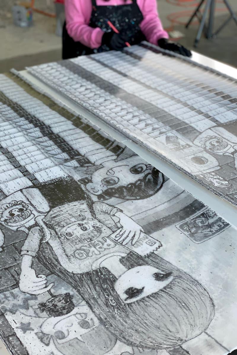 stickmonger obsession no joke print edition artwork avant arte