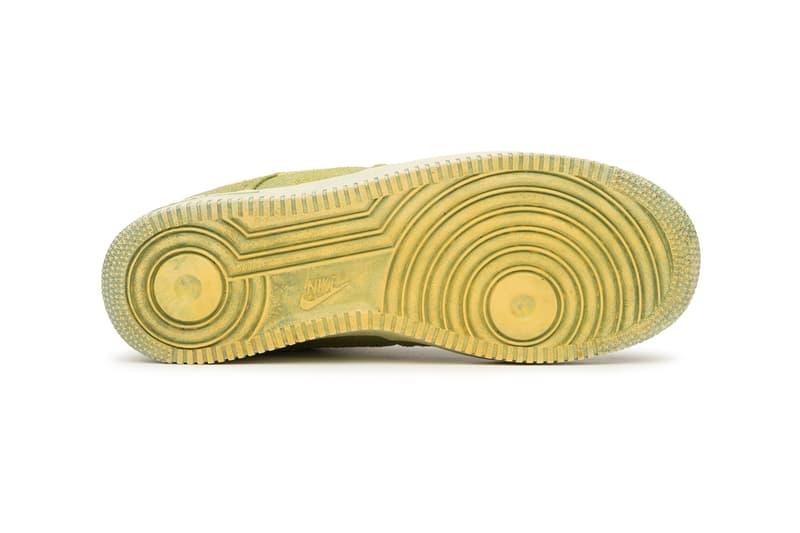 Stussy Nike Hand Dyed Air Force 1 menswear streetwear kicks trainers runners shoes basketball sneakers footwear 2021 capsule los angeles california info