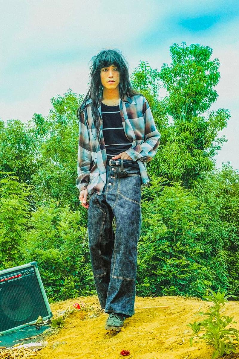 Sugarhill Spring Summer 2021 lookbook menswear streetwear ss21 collection jackets pants trouserse denim shirts t shirts tees jeans hippie rockabilly info