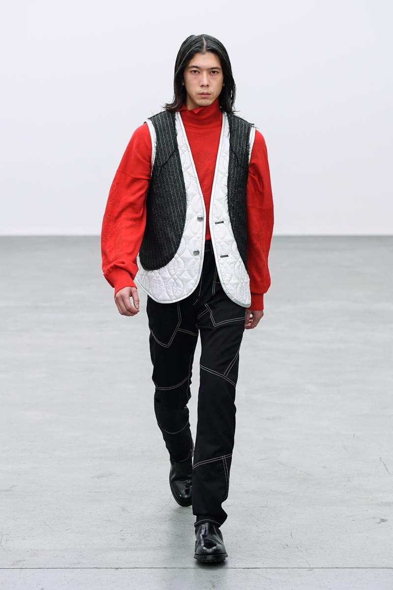 sulvam Fall/Winter 2021 Collection Lookbook fw21 japan teppei fujita menswear paris fashion week pfw