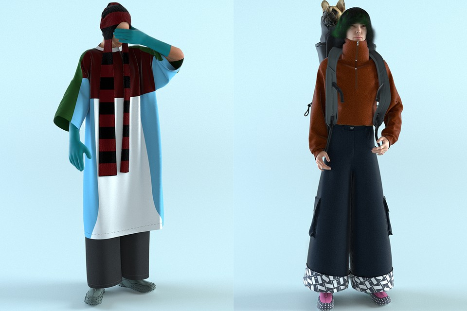 hypebeast.com - Eric Brain - SUNNEI Canvas FW21 Is in a Paradoxical Never-Ending Video Game Universe