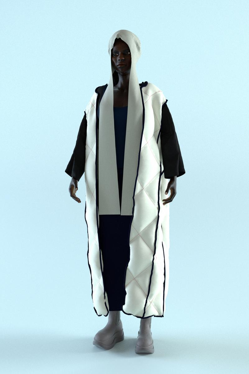 SUNNEI Canvas Fall/Winter 2021 Lookbook Interview Collection Preview FW21 Closer First Look Italy Design Video Game Presentation Dogwear Genderless Mens Womens Unisex Bianco Sunnei Loris Messina Simone Rizzo