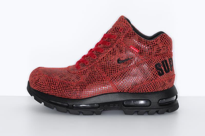 Acorazado Torbellino podar  Supreme x Nike Air Max Goadome Release Info | HYPEBEAST