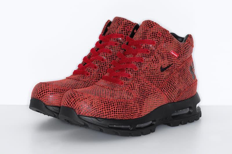 Supreme Nike Air Max Goadome Release Info Sneaker Boot Date Buy PRice