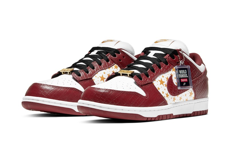 """Official Images of the Supreme x Nike SB Dunk Low """"Barkroot Brown"""""""
