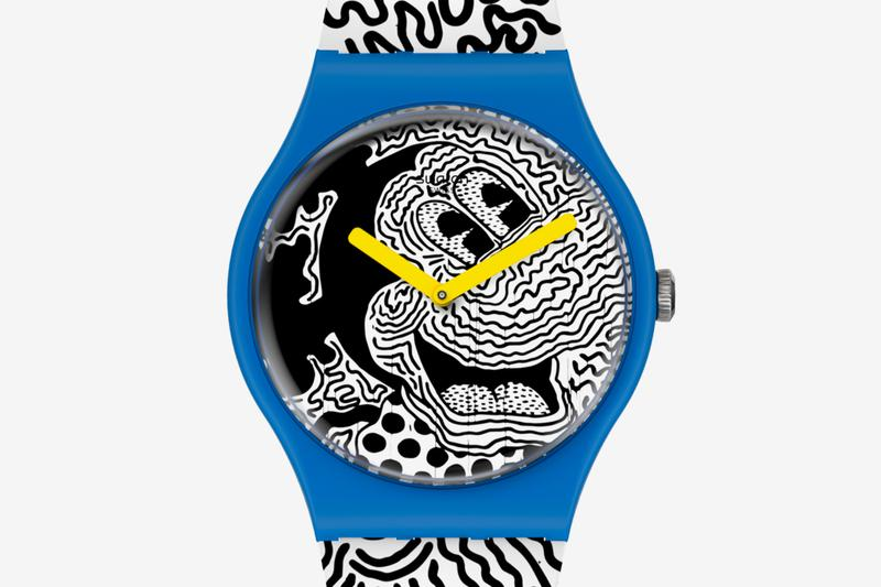 Swatch Keith Haring Mickey Mouse 2021 Capsule watches accessories artist new york 1986 pop shop swiss disney