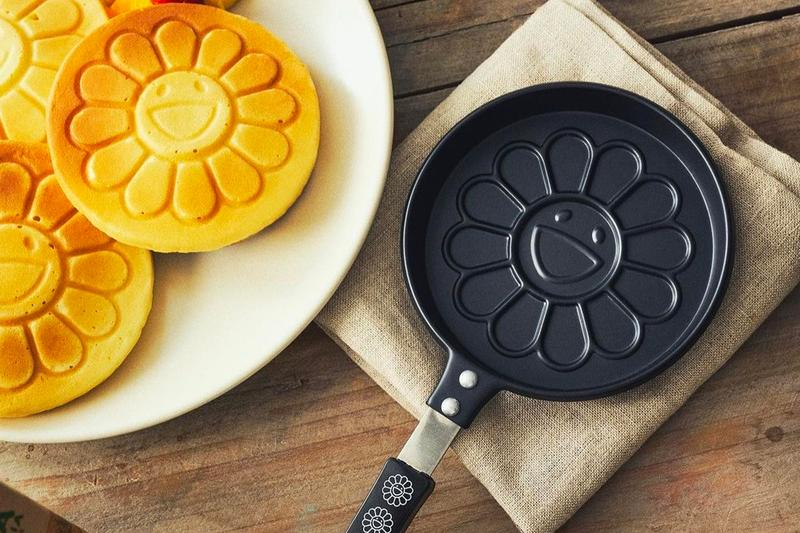 Takashi Murakami Flowers Pancake Pan Release Info Buy Price smart