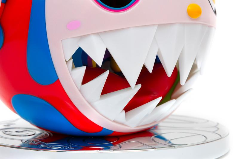 takashi murakami melting dob figure release edition sculpture artwork