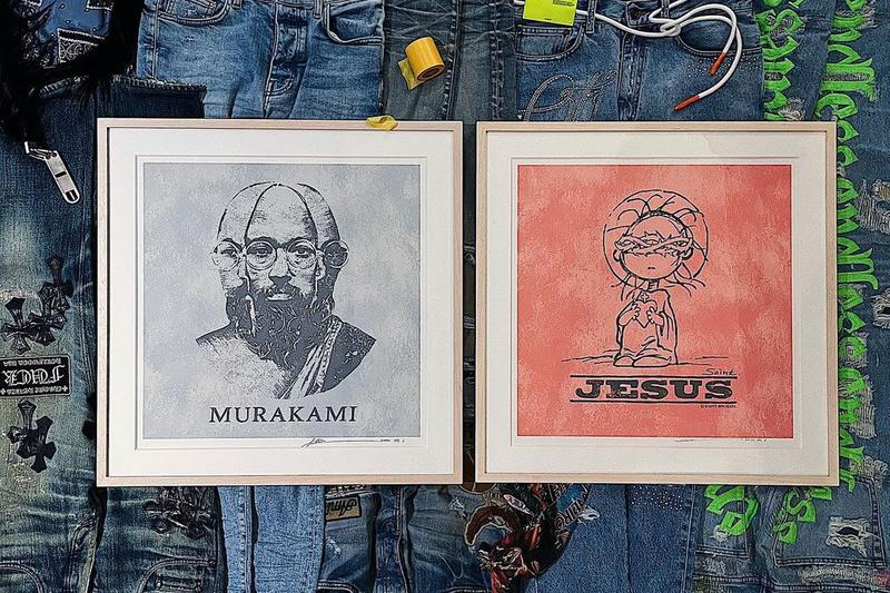 takashi murakami mr hosakawa tonari no zingaro print editions collaboration