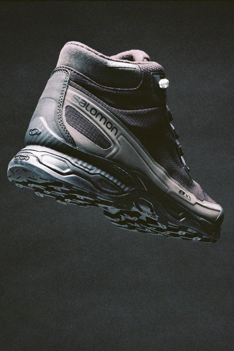 The Broken Arm Salomon Advanced Shelter CSWP Advanced Fall Winter 2020 FW20 Collection Collaboration Functional Sneaker Boot Hybrid Better Gift Shop Waterproof Protection Rugged Sole Unit