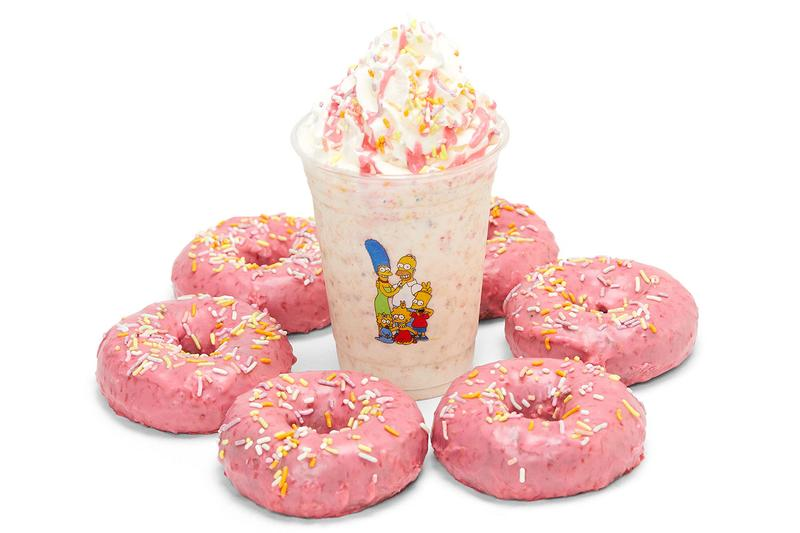 The Simpsons KITH Collection Release SoHo Installation Treats Doughnut Plant Info