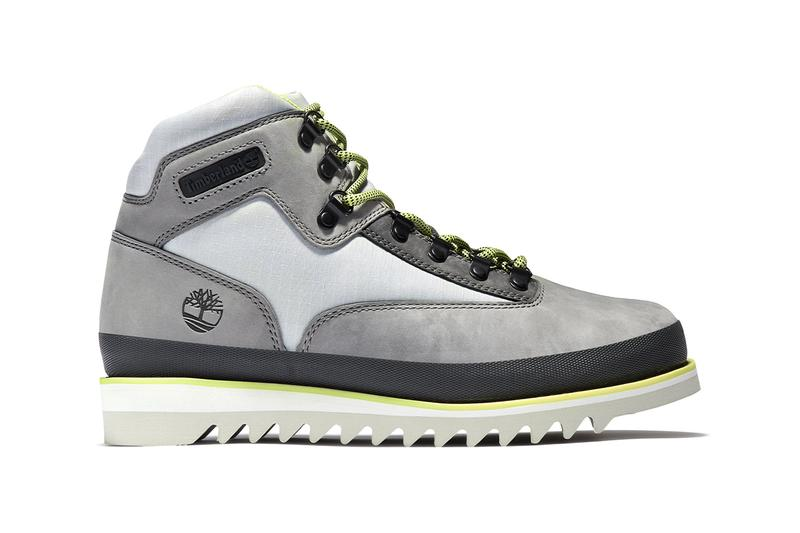 timberland c61 hiking boot release information grey yellow black limited edition sustainable
