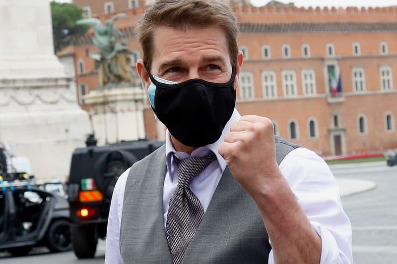 Tom Cruise Purchased COVID-19 Safety Robots Mission: Impossible 7 Set Coronavirus