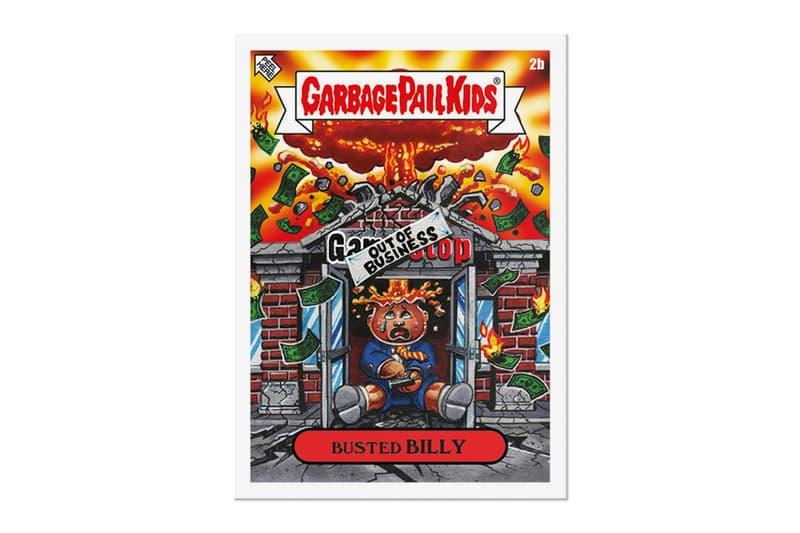 """Topps Releases Meme-Themed 'Garbage Pail Kids' """"Gamestonk"""" Card Pack   Elon Musk  Bernie Sanders  GameStop Reddit  WallStreetBets Garbage Pail Kids GME"""