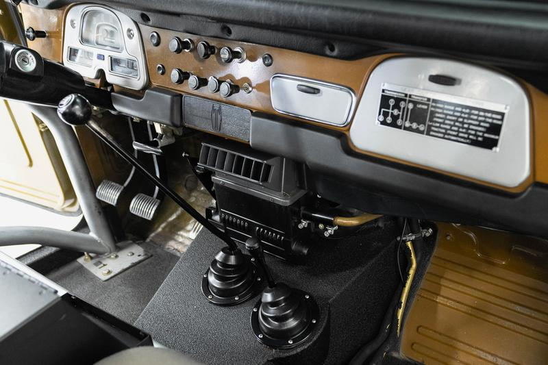 toyota fj40 land cruiser car truck offroad olive black price photos buying information