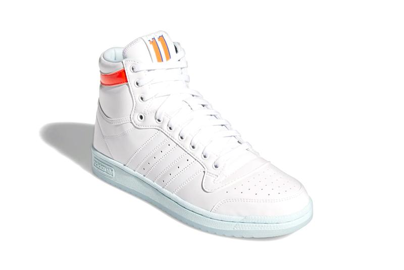 trae young adidas top ten hi cloud white sky tint GW4977 release info store list photos buying guide date ice