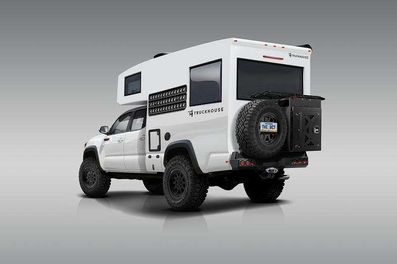 TruckHouse BCT Toyota Tacoma TRD Pro RV Camper Van Japanese Automotive 4x4 SUV $285,000 USD Carbon FIber Composite House Apocalypse