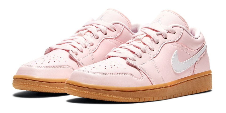 """The Air Jordan 1 Low is Coming in """"Arctic Pink"""""""
