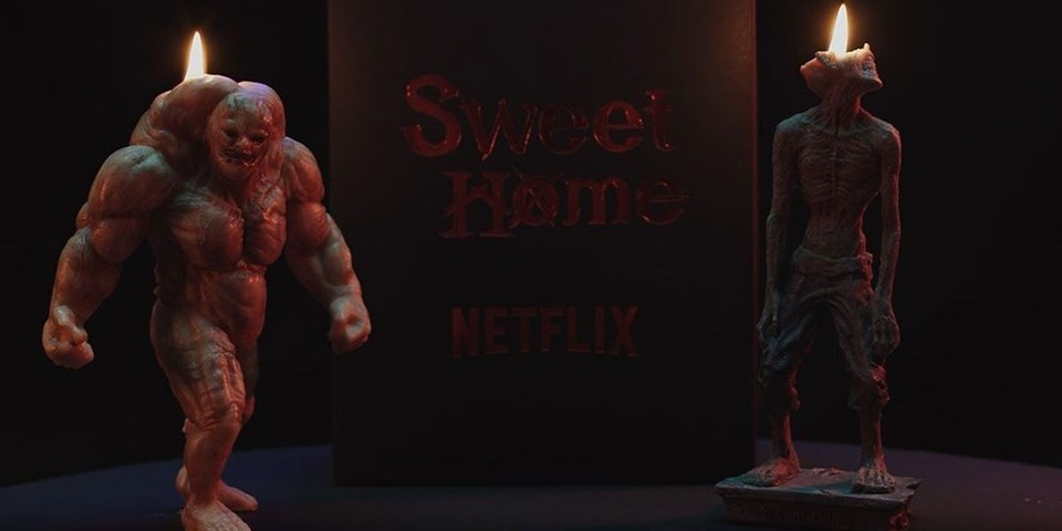 Netflix Crafts 'Sweet Home' Steroid Monster and Blind Monster Candles