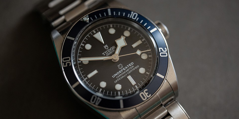 UNDEFEATED Recruits Tudor for Friends and Family Black Bay Watch
