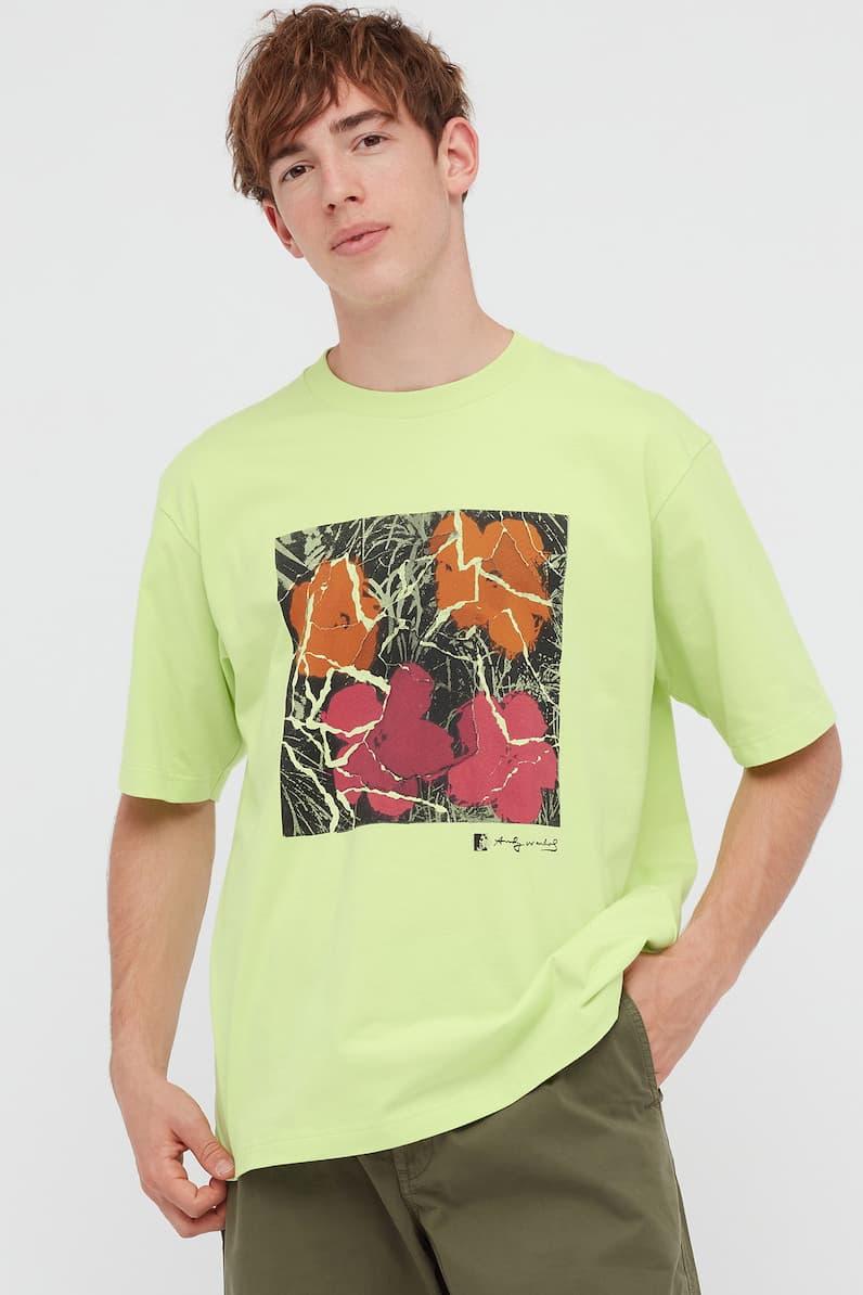 Uniqlo UT Kosuke Kawamura Andy Warhol Collaboration Collection T-Shirts Artist Japanese Modern Interpretation Drawings Art Graphics Tees Japan Clothing Mens Womens Unisex Popart Velvet Underground & Nico Banana Campbell Soup