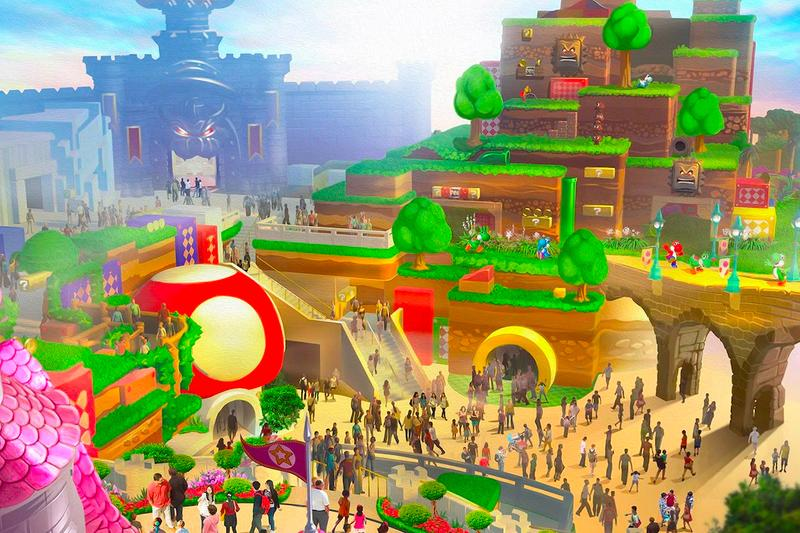 Universal Studios Japan Virtual Web Tour Super Nintendo World japanese amusement Mario Kart: Koopas Bowsers Challenge and Yoshi's Adventure attractions