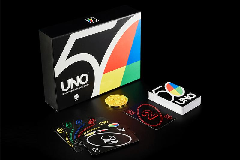UNO 50th Anniversary Commemorative Products Card Sets Deck Game Mattel 2021