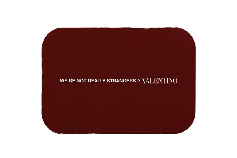 valentino were not really strangers card game release info photos date store list buying guide