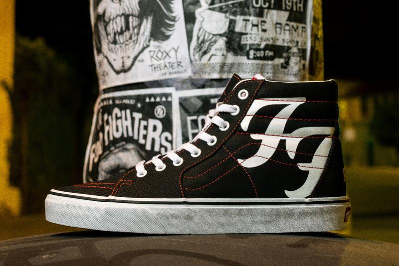 foo fighers vans sk8 hi 25th anniversary debut album medicine at midnight dave grohl official release date info photos price store list buying guide