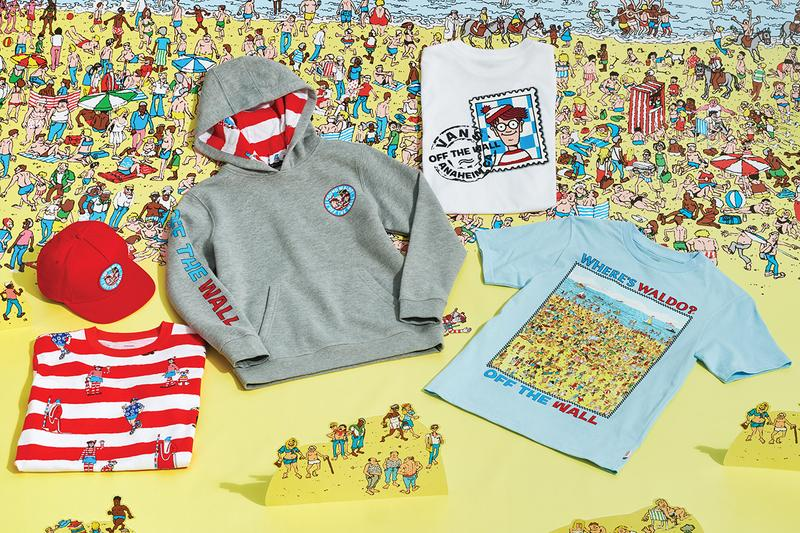 vans wheres waldo collaboration sk8 hi old skool slip on release info date photos price store list buying guide hat t-shirt snapback hoodie