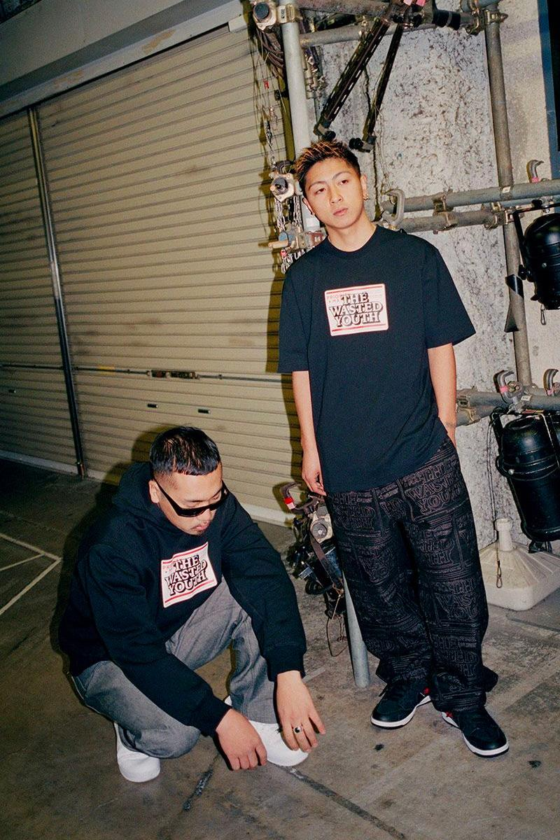 BlackEyePatch Wasted Youth 2020 Capsule menswear streetwear fall winter 2020 fw20 collection japanese tokyo verdy