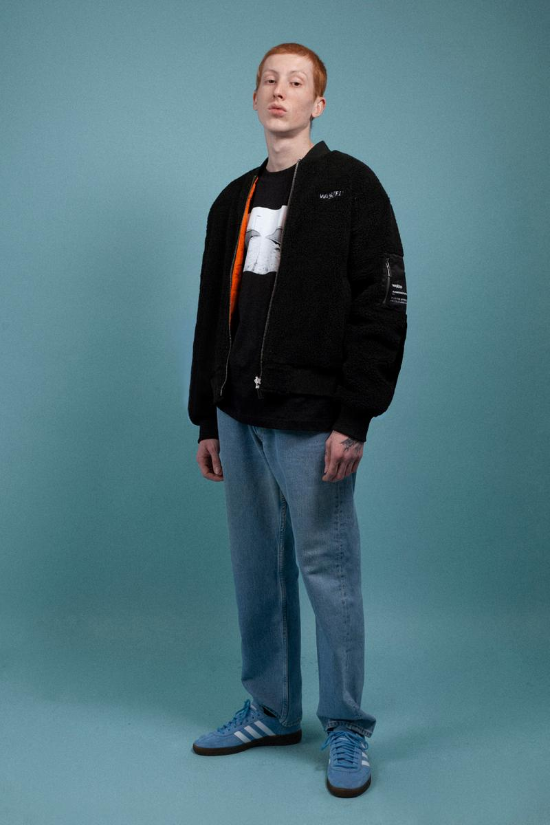 """Wasted Paris """"Always Faithful"""" Fall/Winter 2021 Collection 1980s British Society Manchester Northern UK Skinhead Bomber Jacket Mods Parka Casuals tartan pattern Military Army"""