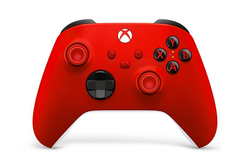 microsoft xbox series x s windows 10 pc android gaming controller pulse red lunar new year peripheral
