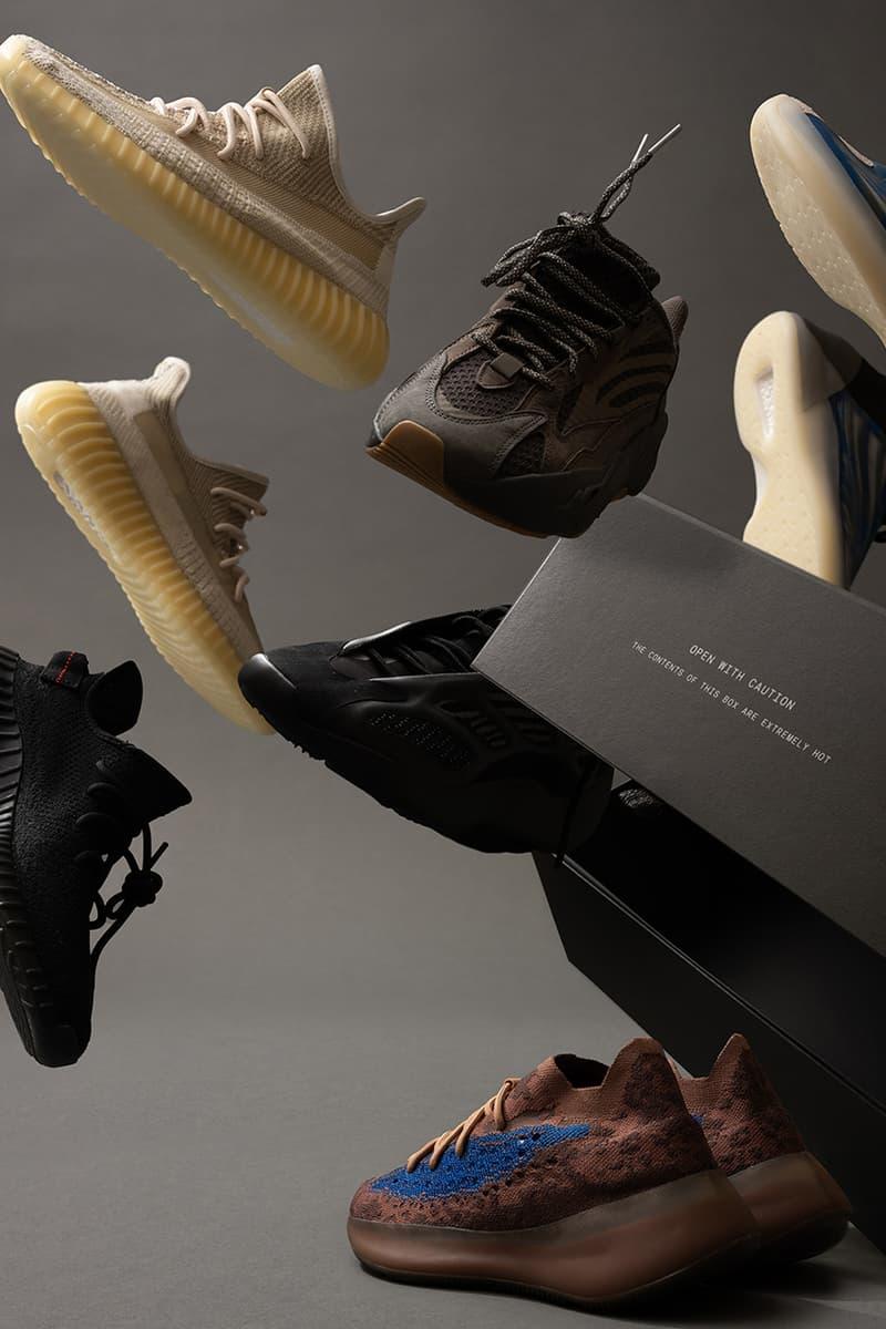 HEAT yeezy Kanye West mystery box release information