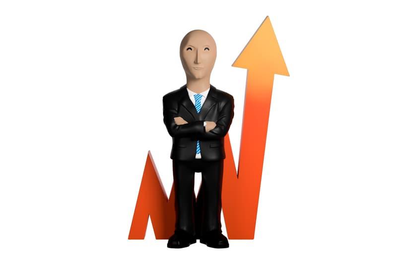 stonks figure, <b> Crush the stock market with this &#8216;Stonks&#8217; meme figure </b>