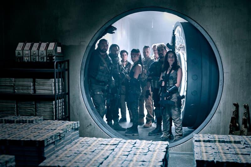 Zach Snyder Army of the Dead Netflix First Look Zombie Heist Tig Notaro Dave Bautista Film