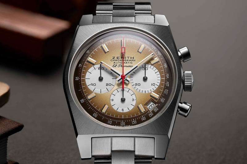 zenith el primero chronomaster revival chronograph a385 operation sky 1969 1970 vintage watches accessories reissue