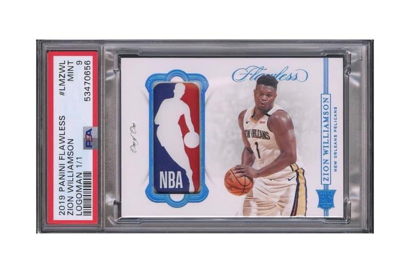 Zion Williamson NBA Rookie Card Auction Worth $750K USD Goldin Auctions MINT 9