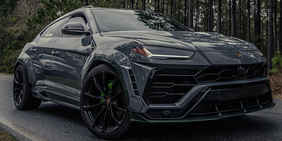 1016 Industries' Full Carbon Fiber Widebody Lamborghini Urus Is an 800HP Beast