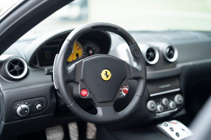 2009 Ferrari 599 GTZ Nibbio Spyder by Zagato RM Sotheby's Auction Rare One of Six Italian Coachbuilt Supercar Unique Body Work Kit Design V12