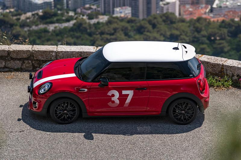 Only 65 of These MINI JCW Paddy Hopkirk Editions Were Made cooper S 3 door 1964 Monte Carlo win 33EJB Norther Ireland Belfast racing rally driver limited edition BMW John Cooper Works
