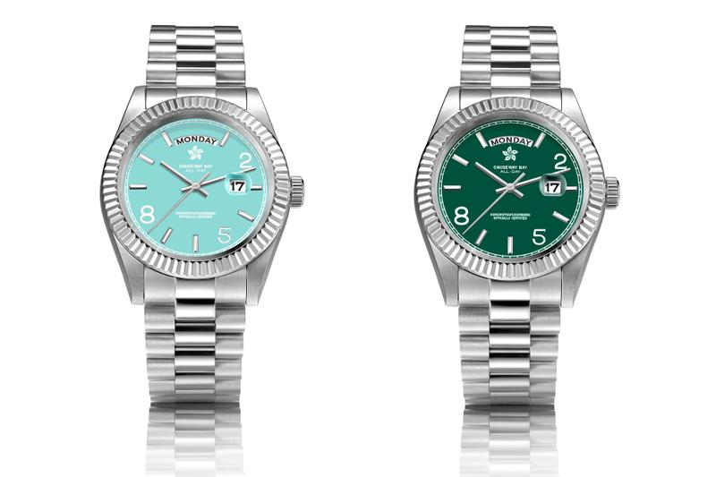 """8FIVE2 Is Back With a Tiffany-Inspired """"ALL DAY"""" Watch JBS Hong Kong Rolex Quartz Homage Watch Playful Tiffany Blue"""
