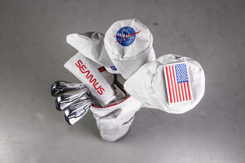Golf on the Moon Inspired Collection by Seamus Golf Driver Fairway Hybrid Putter Cover Golf Bag Marker