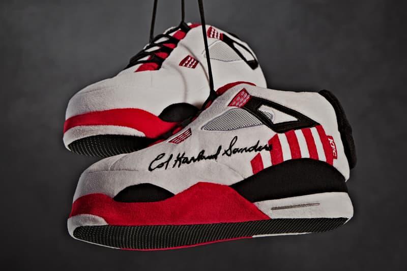 KFC sneakers slipppers bucketdrop nba basketball tv watch couch fans