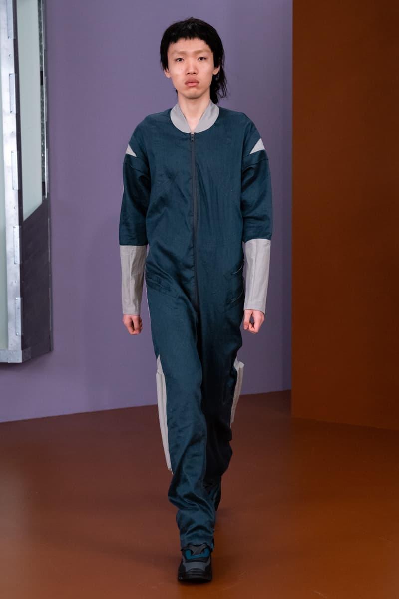 Kiko Kostadinov Fall/Winter 2021 Collection Runway show lookbook menswear fw21