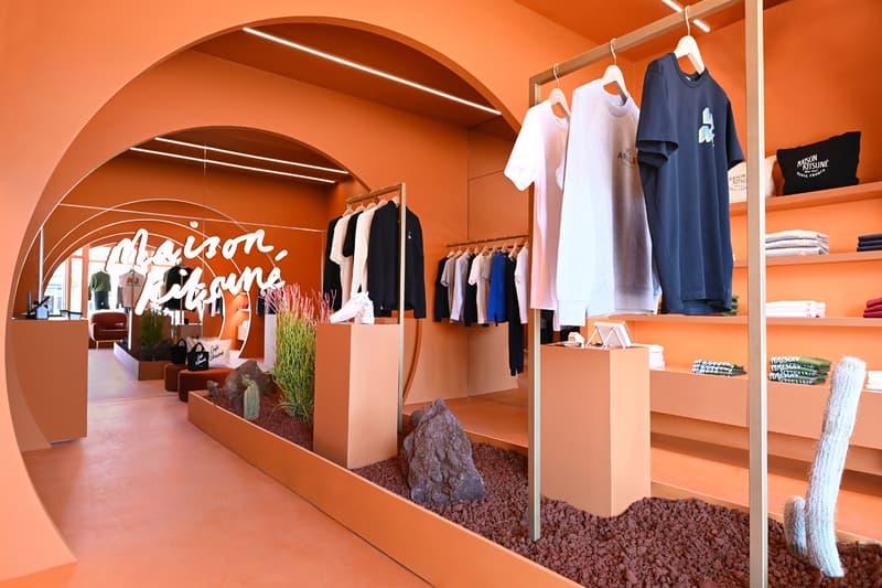 Maison Kitsune Los Angeles Flagship Interview Gildas Loaëc & Masaya Kuroki store shop inside design interior buy